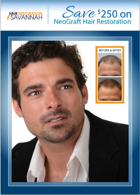 Graphic Hair Restoration Specials